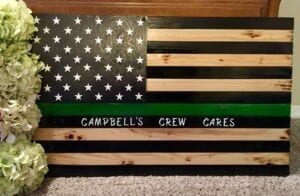 Special Campbells Crew Cares Flag