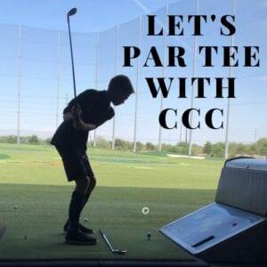 Let's par tee with ccc